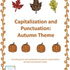 Capital Letters and Punctuation Packet: Fall Theme