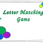 Capital and Lower Case Letter Match - Smart Board Koosh Ball Game