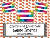 Capital and Lowercase Letter Game Boards