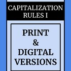 Capitalization - Common Core Standards for 2nd - 4th Grades