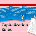 Capitalization Rules PowerPoint w/ Handout and Practice Worksheet