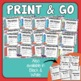 CapitalizationTask Cards: 32 Multiple Choice Sentence Cards