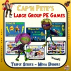 Cap&#039;n Pete&#039;s PE Games - &quot;Dual Series Packet&quot;