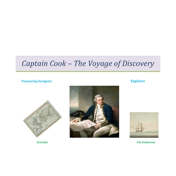 Captain Cook - The Voyage of Discovery