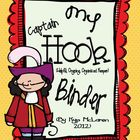 Captain Hook Organizational Binder Set