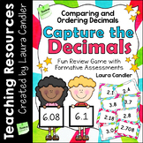 Capture the Decimals Game (4th and 5th Grade CCSS)