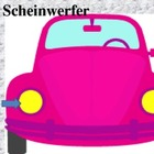 Car parts in German power point