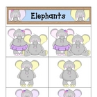 Card Matching- Elephants