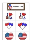 Card Matching- Patriotic