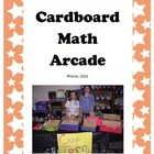 Cardboard Math Arcade