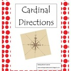 Cardinal Directions Treasure Hunt Game & Printable