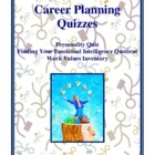 Career Planning Quizzes, Personality, Emotional Intelligen