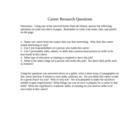 Career Research Worksheet for Library - with inclusion version!