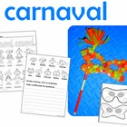 Carnaval-Mardi Gras bilingual in spanish and english