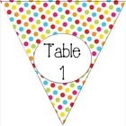 Carnival Table Signs