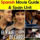 Carol's Journey (El Viaje de Carol) Spanish Movie Packet