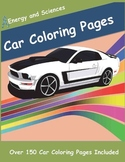 Cars Coloring Pages [paperback]
