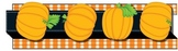 Carson-Dellosa Pop-Its™ Border; Pumpkins