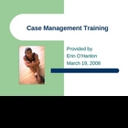 Case Management Training