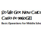 Casio Graphing Calculator Scavenger Hunt with KEY!