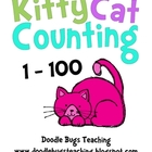 Cat Counting Cards - Count from 1-100 Pre-K, Kindergarten,