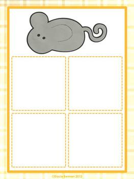 Cat and Mouse Working With Equations {Grade 1 Common Core}