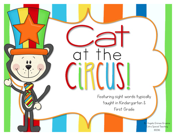 Cat at the Circus - A Sight Word Game
