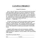 Catapult Projects