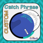 Catch Phrase Disk Template Vocabulary Review Game (Mac Template)