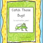 Catch Those Bugs Subtraction Game