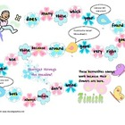 Catch a Butterfly Sight Word Game Second Grade