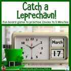 Catch a Leprechaun Clock Practice