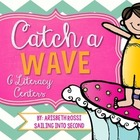 Catch a Wave ELA Centers and Activities {Common Core}