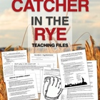 Catcher in the Rye unit files - PowerPoints, Projects & Ha