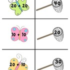 Catching Butterflies Math Center (Adding Tens)