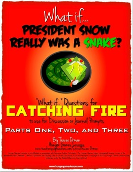 "Catching Fire ""What If"" Journal Discussion Prompts {Parts"