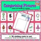 Categorizing Pictures - Clothes and Weather Go Together!