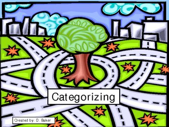 Categorizing - What doesn't belong? Power Point Presentation