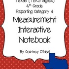 Measurement Interactive Notebook (4th) (TEKS align- STAAR