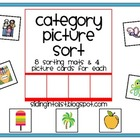 Category Picture Sort