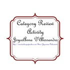 Category Review Activity