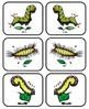 Caterpillar Craze alphabet cards