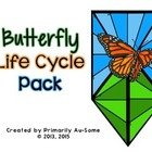 Caterpillar into Butterfly Life Cycle & Journal