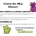 Cats At My Door (Hidden Addition)