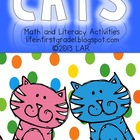 Cats! Math and Literacy Activities
