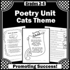 Cats Poetry Unit
