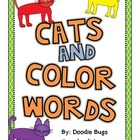 Cats and Color Words Unit
