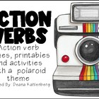 Caught on Camera! {Action Verb Polaroids, Activities and P