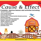 Cause & Effect Smartboard Lesson for the Common Core Standards