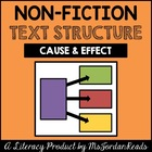Cause &amp; Effect -- Text Structure Packet